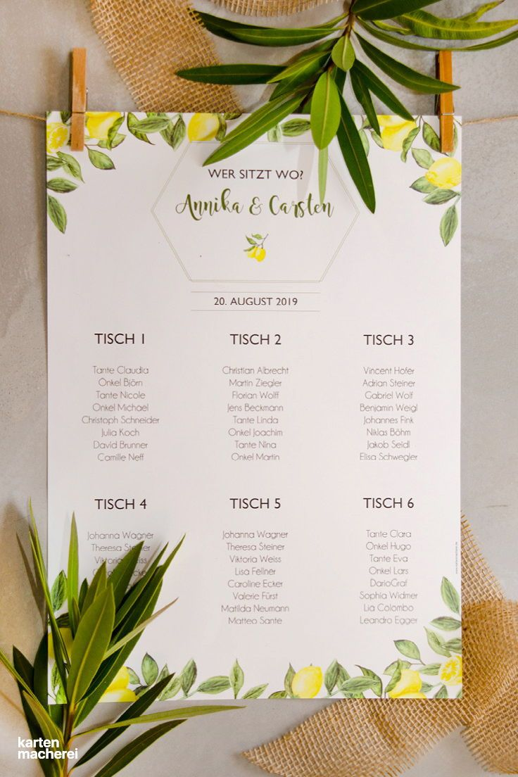 Sitzplan plakat amalfi wedding planning wedding planning wedding und how to plan