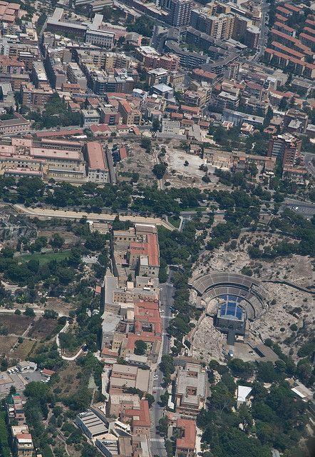 Buoncammino, Orto dei Cappuccini e Anfiteatro - Cagliari, Sardinia, Italy