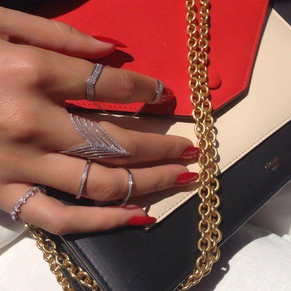 #djulajewelry #chic #diamond #rings #istiyorum