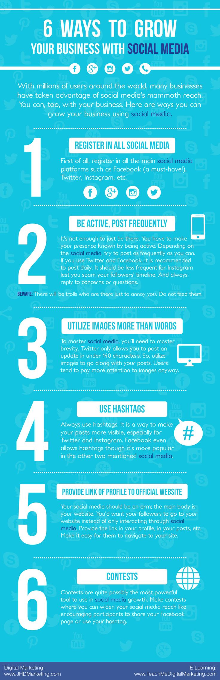 6 Ways To Grow Your Business With Social Media