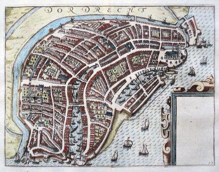 "HOLLAND - Dordrecht, ""Dordrecht"" - Lodovico Guicciardini"
