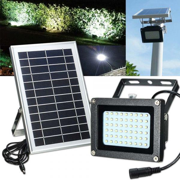 Solar Light 54 Led Floodlight Outdoor Garden Waterproof Security Lamp Outdoor Flood Lights Flood Lights Solar Lights