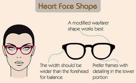 best eyeglass frames for heart shaped face | Eyeglass frames for heart shape