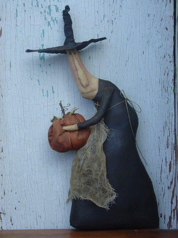 Gertie Picks A Winner A primitive Folk Art Pattern by thegoodewife