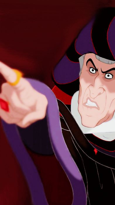 *JUDGE CLAUDE FROLLO ~ The Hunchback of Notre Dame, 1996