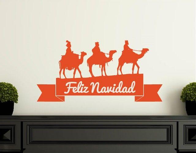 #Adornos #Navideños en #vinilo adhesivo #navidad #CHRISTMAS