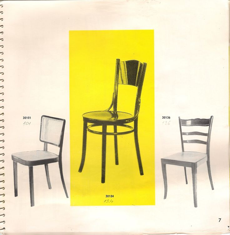 Amazing bentwood chairs from Catalogue of bentwood furniture 1965, Czechoslovakia, TON, Bystrice pod Hostynem & Tatra nabytok, N.P. Pravenec. This catalogue includes more than 200 different kind of chairs and armchairs produced in this period.