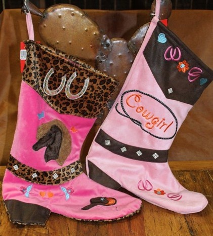 52 best cowboy boot christmas stockings images on Pinterest ...