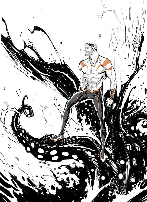 Aquaman by Dan mora