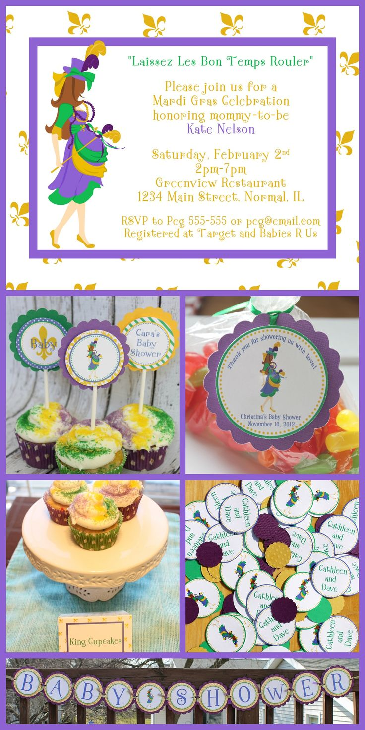 mardi gras baby shower ideas expressions paperie planning a mardi