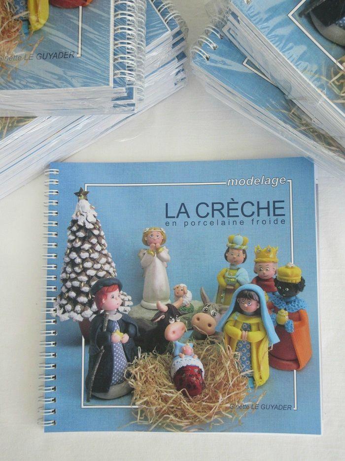 nouveau livre de Ginette le Guyader la crèche à commander sur son blog