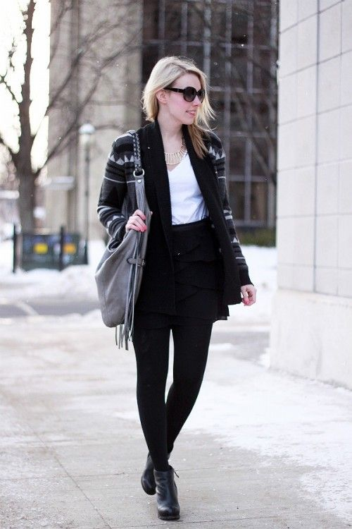 incredible edgy outfits for work 11