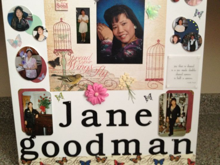 picture poster board for funeral arts arts