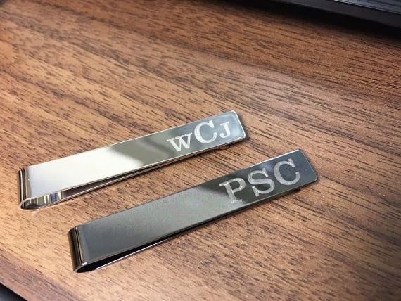 Tie Clip Personalized Custom Tie Bar Clip Custom Tie Clip