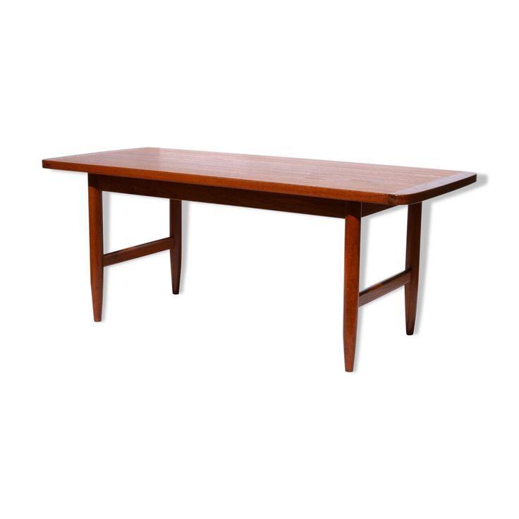 1960 39 S Teak Coffee Table Hmb Mobler Rorvik Wood Material Wood Color Scandinavian 4p7w325b 196039s 4p7w32 Table Furniture