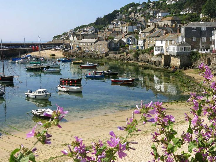 Mousehole Harbour - Cornwall, UK pronounced Mowzol