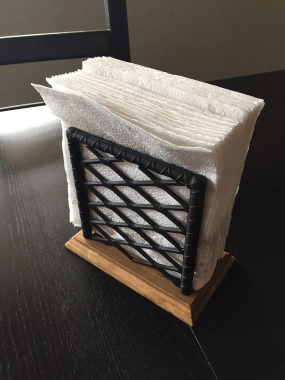 Industrial Napkin Holder. Rebar Napkin holder by JmartzFabrications | Etsy