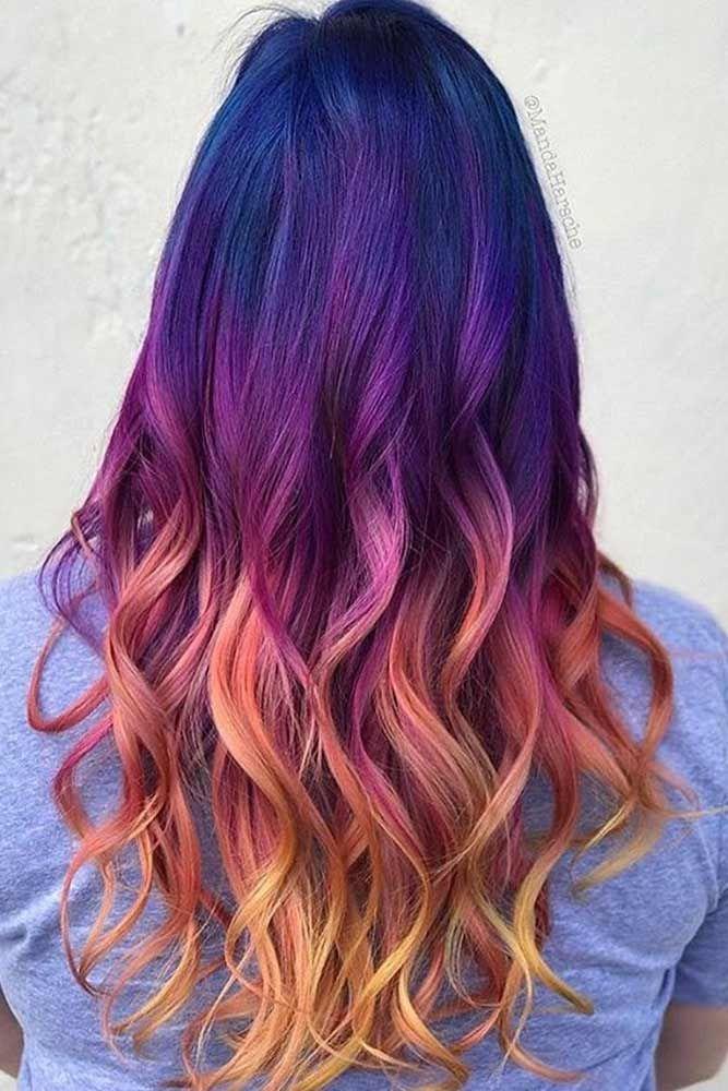 Best 25 Purple Ombre Ideas On Pinterest  Ombre Purple Hair Ombre Hair Dye