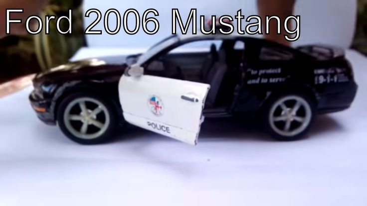 Ford 2006 Mustang GT Police diecast models you need to know #cars #diecast #Ford2006MustangDD