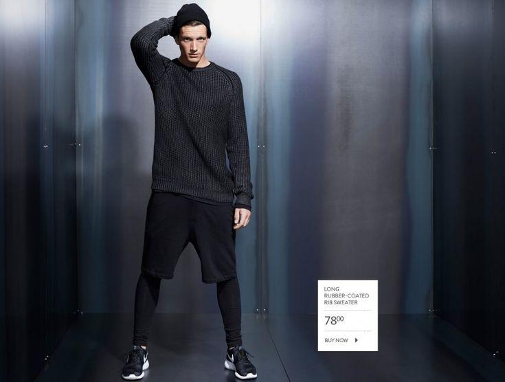 Florian Van Bael Models Urban Fall 2014 Styles for Simons – Sportswear