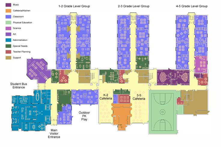 elementary school building design plans | Moreland Hills Elementary School : DesignShare Projects