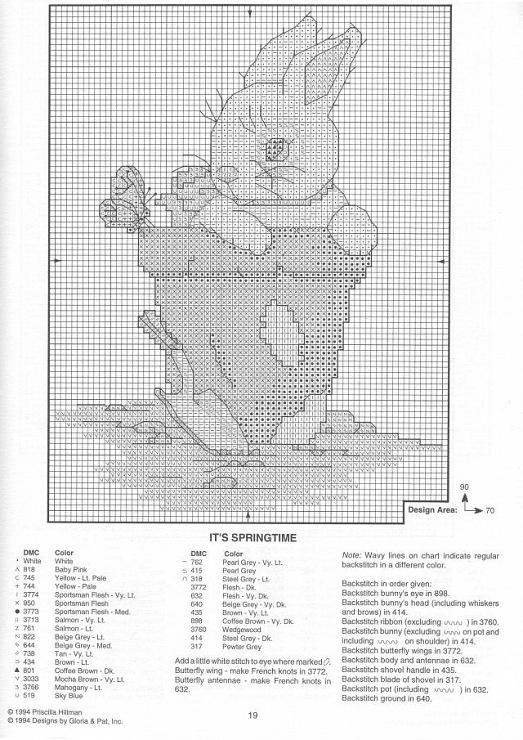 Children -White bunny in clay pot (bbj3564) 2/2