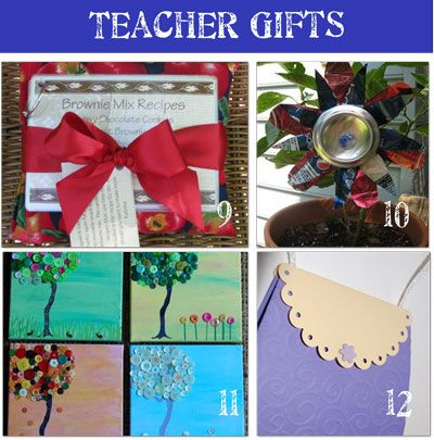 24 Teacher Appreciation Gifts {homemade gifts} - Tip Junkie