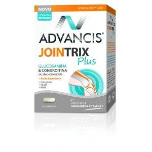Advancis Jointrix Plus contribui para o normal funcionamento e manutenção das cartilagens e dos ossos e para formação de colagénio e tecido conjuntivo.