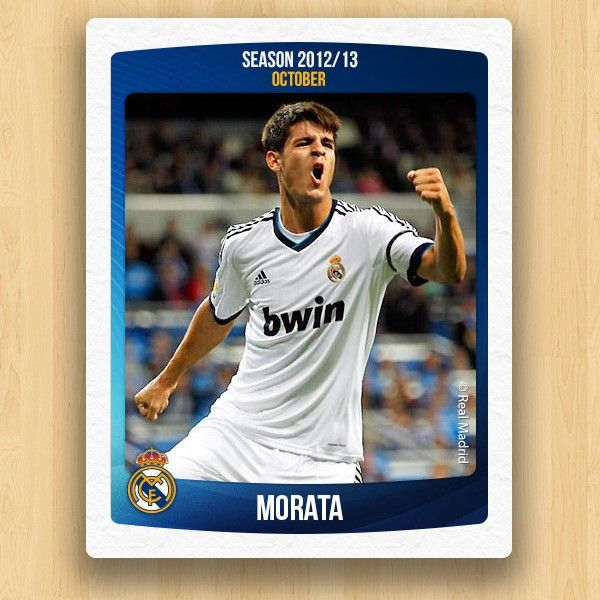 Real Madrid Collections - Morata