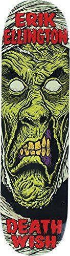 "Get cheap Deathwish Erik Ellington Nightmare Skateboard Deck - 8.25"" x 31.5"" - http://ridgecrestreviews.com/get-cheap-deathwish-erik-ellington-nightmare-skateboard-deck-8-25-x-31-5/"