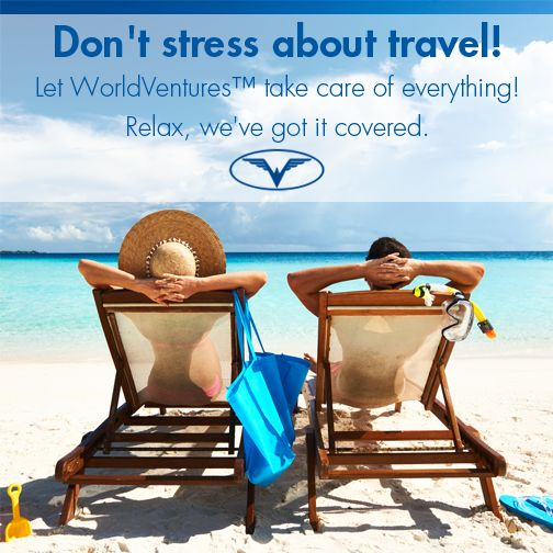WorldVentures Representatives provide stress-free travel accommodations that allow Members to travel the globe. Don't worry about your next trip, WorldVentures has it covered. http://fruitfulmultiplier.worldventures.biz/