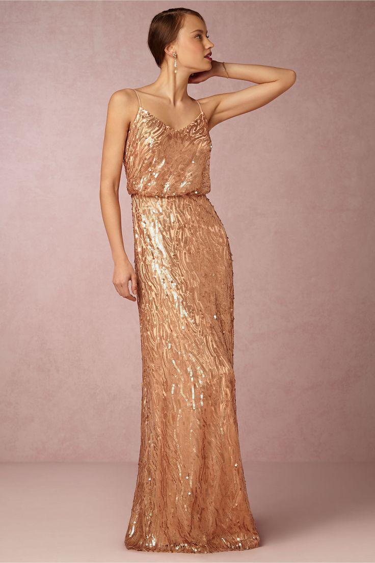 50 best Long Gold Bridesmaids Dresses images on Pinterest | Bridal ...