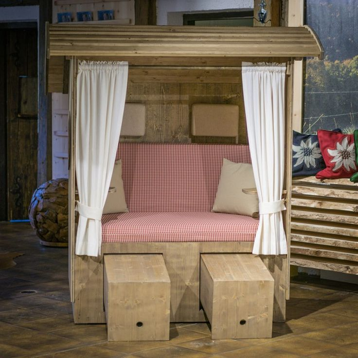 alpenkorb landhaus strandkorb aus bayern 0815 pinterest strandkorb landh user und. Black Bedroom Furniture Sets. Home Design Ideas