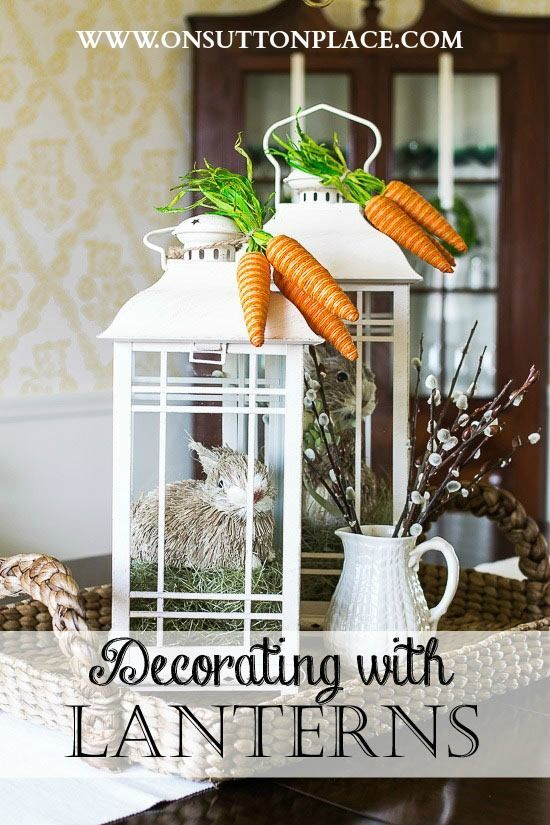 133 best Lanterns & Lantern Swags images on Pinterest | Fall ...