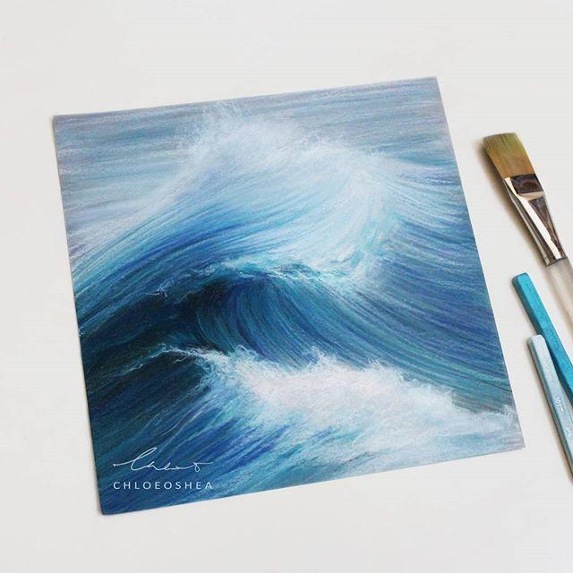 Pastel Wave 2  By Chloe O'Shea
