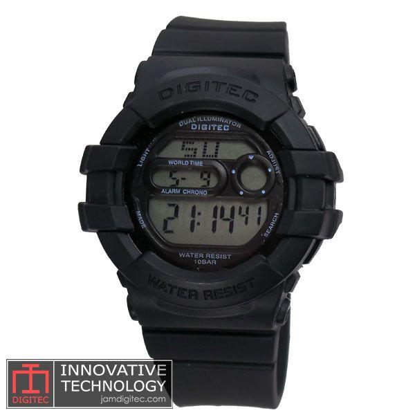 jam tangan digitec wanita DG-2051T hitam