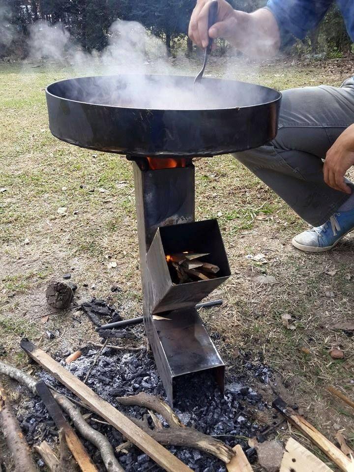 Cocina de leñas