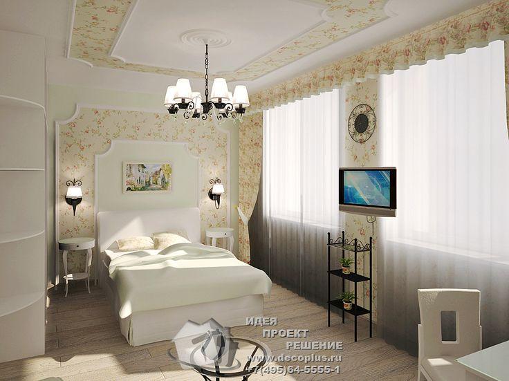 Дизайн спальни http://www.decoplus.ru/desspal