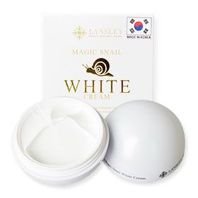 ลดราคา Beauty Buffet Lansley Magic Snail White Cream 50ml ครีมบำรุงผิวจากสารสกัดเมือกหอยทาก คืนความกระจ่างใสเนียนนุ่มสู่ผิว
