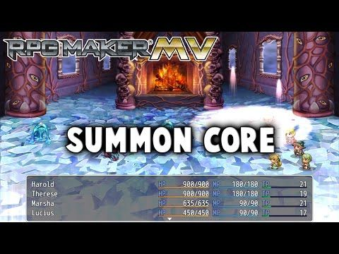 Summon Core – MV Plugin – RPG Maker MV Plugins | rpg maker