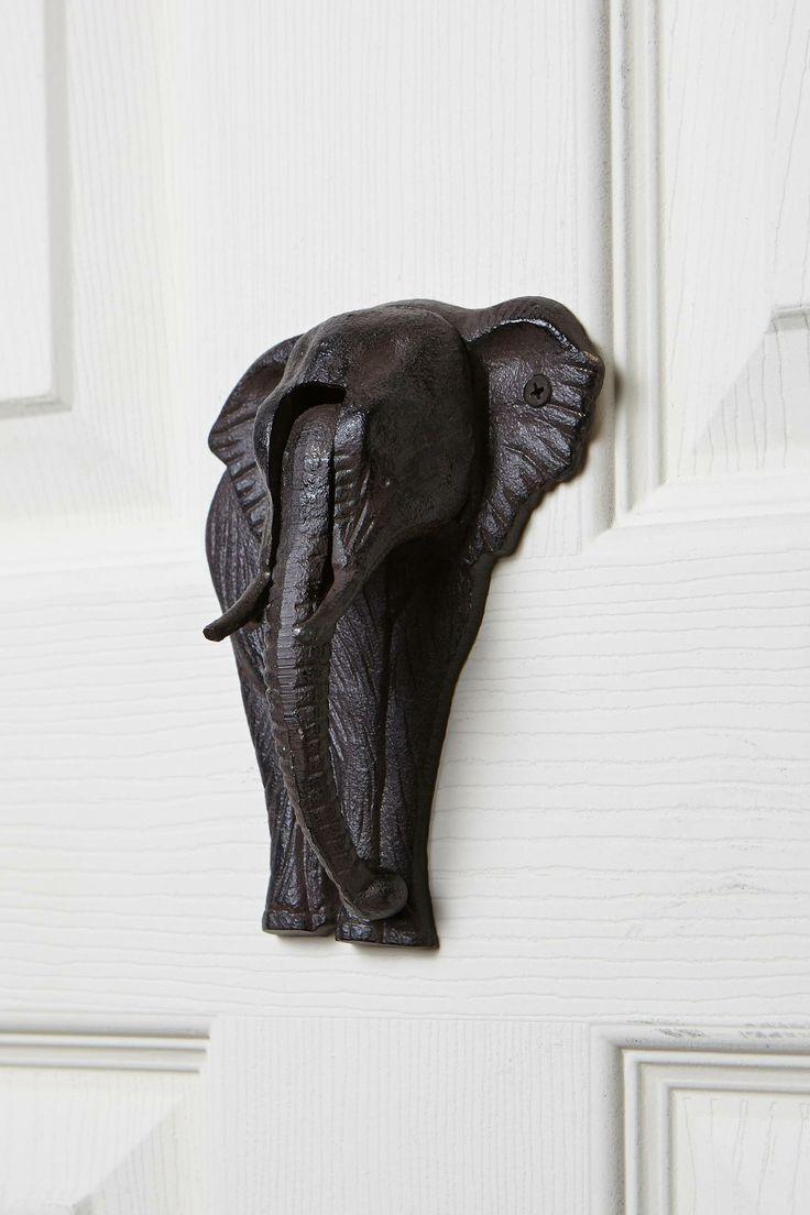 1000 Images About Elephants Doorknokers Handles On Pinterest Elephant Face Door Handles