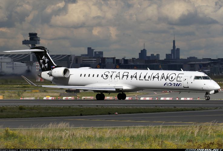 Bombardier CRJ-900LR (CL-600-2D24) - Star Alliance (Adria Airways) | Aviation Photo #4588577 | Airliners.net