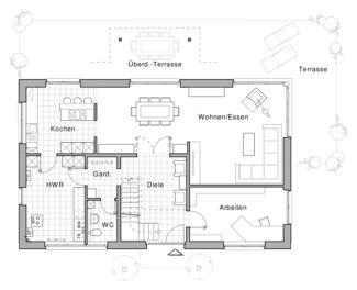 Ber ideen zu haus pl ne auf pinterest hauspl ne for Architektur einfamilienhaus grundrisse