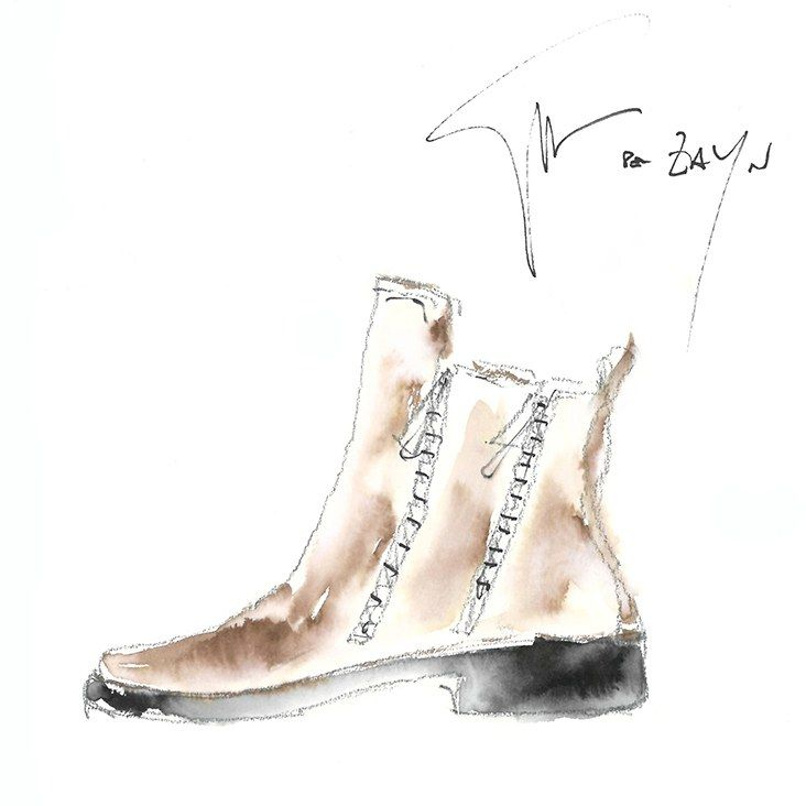 Here's Zayn Malik's Sneaker Collection with Giuseppe Zanotti Photos | GQ