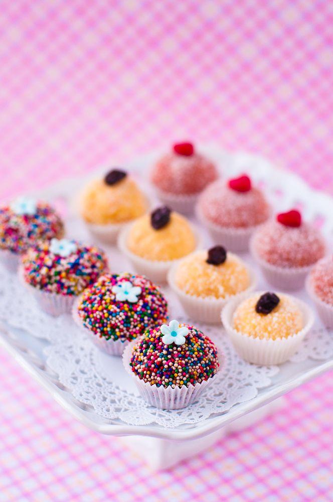 Brazilian Sweets — Lulu's Sweet Secrets. Brigadeiro, Beijinho and Bananinha