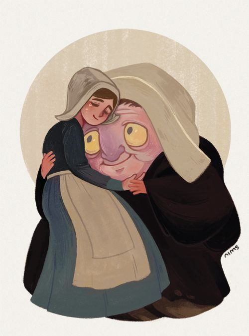 Recently watched Over the Garden Wall. Lorna and Auntie Whispers' story affected me the most
