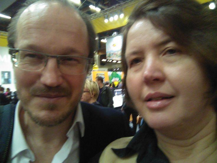 Kai Sadinmaa and me.