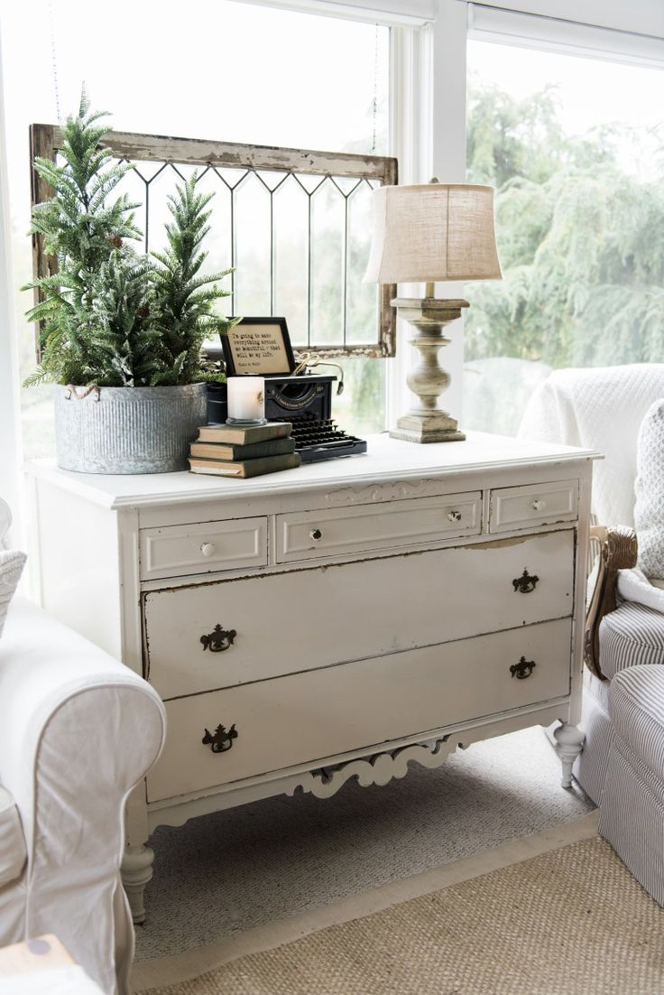 Superior A New Old Dresser In The Sunroom. French Farmhouse DecorFarmhouse Style Cottage ...