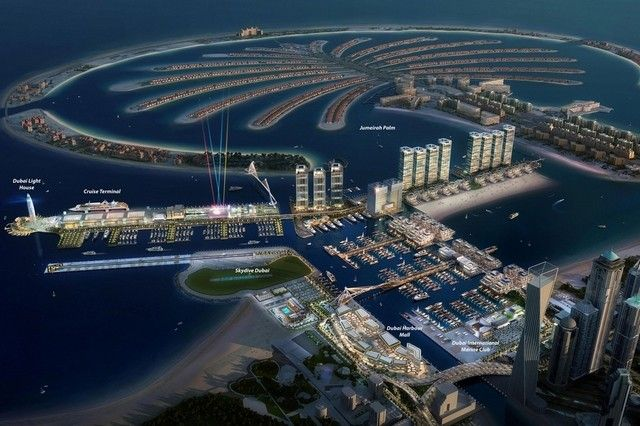 Unveiling Middle East's biggest marina: Dubai Harbour