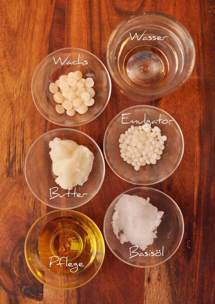 Wildrosenöl-Creme selbst gemacht (mit Rosenwasser)
